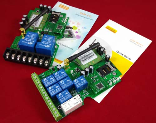 Gsm Relay Remote Control Switch Gsm Controller Relay