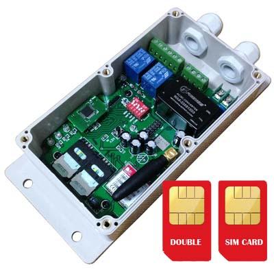 GSM-DKEY Double SIM card on board Controller for door opener